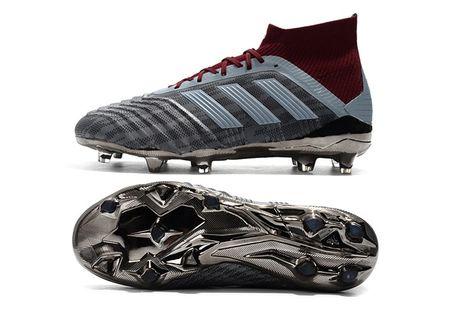 Paul Pogba adidas PP Predator 18.1 FG Gris Rojo  b9398737a40bd