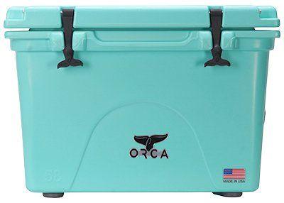 Orca Orcsf058 Cooler Seafoam 58 Qt Review Camping Coolers Orca Cooler