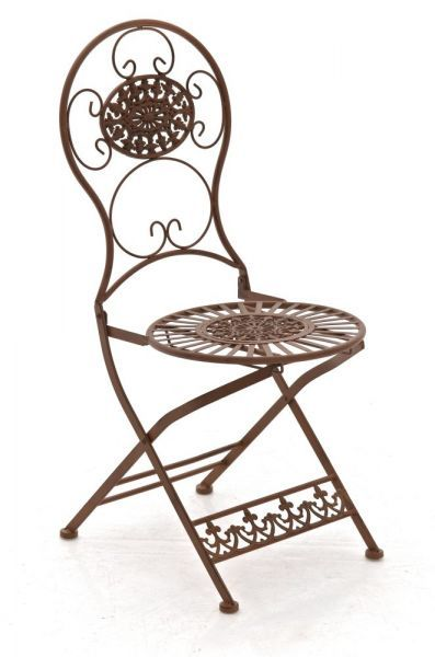 Stuhl Mani Antik Braun Gartenstuhle Stuhle Terrassen Stuhle