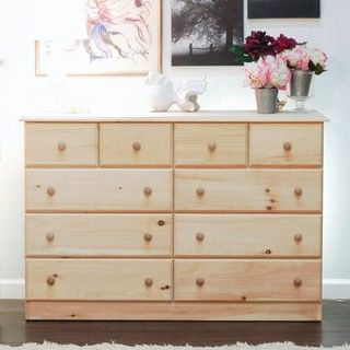Unfinished Furniture Maspeth Dresser Apartment Living Pinterest Solid Wood Dressers And