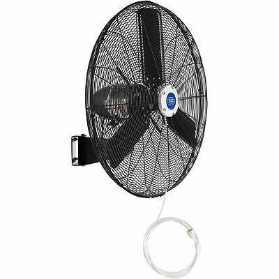 Ad Ebay 30 Outdoor Misting Oscillating Wall Mounted Fan 3 10 Hp 8 400 Cfm In 2020 Wall Mounted Fan Portable Ventilation Fan Zinc Plating