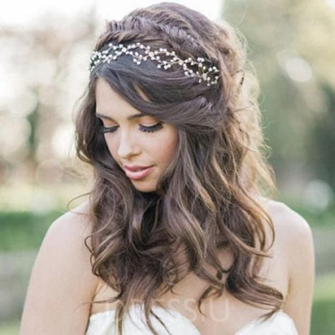 Head Flower Handmade Hair Accessories (Wedding) – dressiu