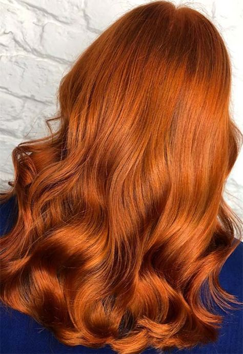 How to Dye Hair Copper #copperhair #hair #haircolor #hairstyles