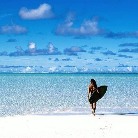 Einen Surfkurs machen