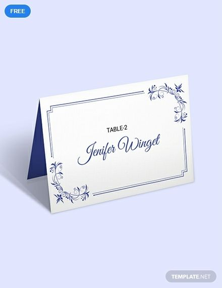 Free Delicate Lace Place Wedding Place Card Free Place Card
