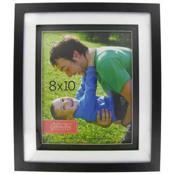Black Wood Frame With Ivory Black Double Mat 8 X 10 Wish