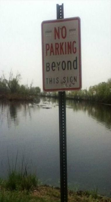 Alrighty then. Far be it from me to question this sign!