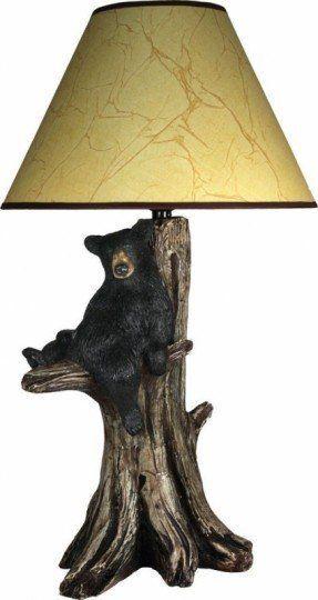 Black Bear Lamp Ideas On Foter Table Lamp Lamp Table Lamp Lighting