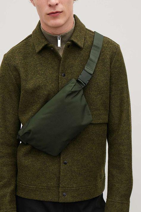 ZIP-UP BELT BAG - Khaki green - Bags - COS
