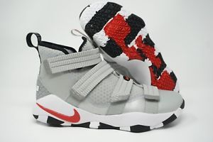 on sale 69f1f c8626 Nike Lebron Soldier XI SFG Silver Bullet Basketball Shoes 897646-007 Size 8- 11   The Shoe Game   Nike lebron, Basketball Shoes, Basketball