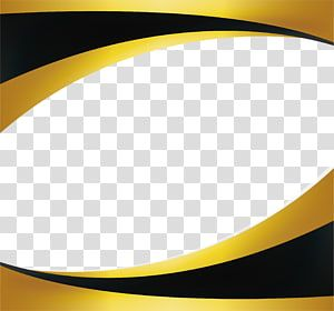 Gold Black Gold Wave Border Yellow And Black Frame Transparent Background Png Clipart Poster Background Design Transparent Background Clip Art