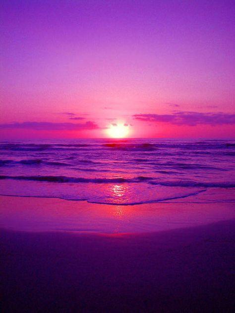 Purple Sunrise by Richie Tatum: Purple Sunrise Photograph by Richie Tatum