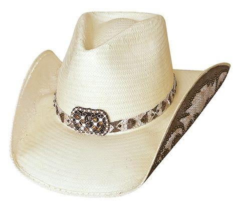 005bcb80556ec Cowgirl Fantasy Straw Cowgirl Hat