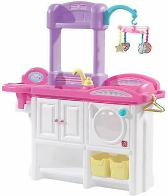 Step2 6 Piece Love And Care Deluxe Nursery Kitchen Set Play