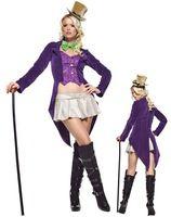 Sexy Sexy Willy Wonka Halloween Costume H39078
