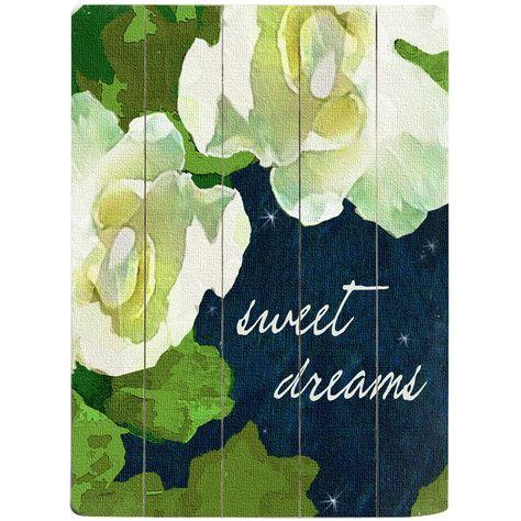 Sweet Dreams (wood pallet)