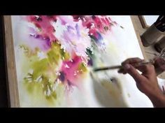 Yazdchi Watercolor Painting 1 Youtube En 2019 Comment Peindre