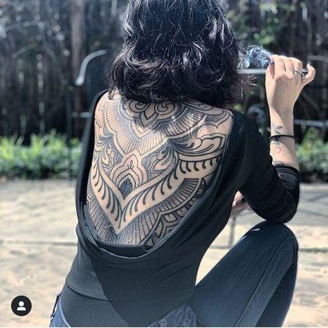Tattoo Back Piece Backpiece - Tattoo Maori Tattoo Frau, Maori Tattoos, Back Tattoos, Body Art Tattoos, Paisley Tattoos, Henna Tattoos, Tattoo Back, Chicano Tattoos, Celtic Tattoos