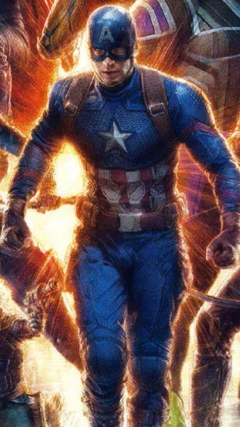 Avengers Endgame Captain America 4k 3840x2160 Wallpaper Captain America Avengers Captain