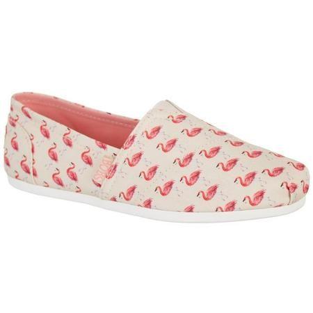 Skechers Womens BOBS Plush Flamingo
