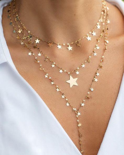 All The Dangles Hoop Earrings star earrings shooting star earrings crystal earrings hoops gold hoops gypset gypset jewelry - Colar shiny stars colar shiny bigger star lariat shiny stars✨🌟✨ lovely jewelry -