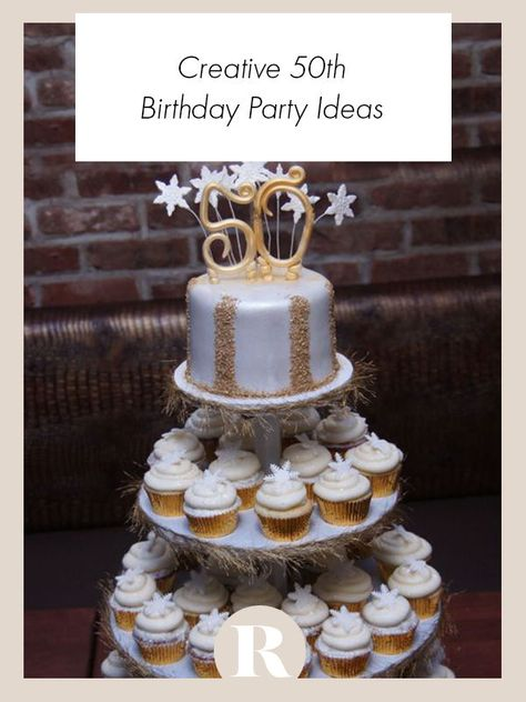 You'll forget about turning 50 with these fun and creative birthday party ideas. #50thbirthday #birthdayideas #birthdayparty