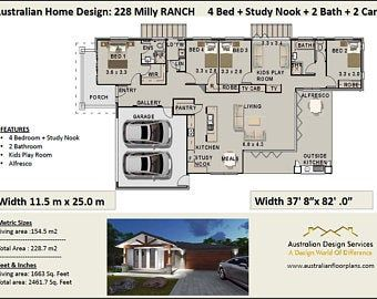 Affordable House Plans Australia Quality By Australianhouseplans Affordable House Plans House Plans Australia House Design