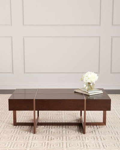Hbjdy Bernhardt Magda Coffee Table Coffee Table Handcrafted