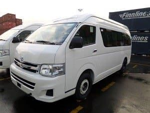 Pin On 14 Seater Toyota Hiace For Rent