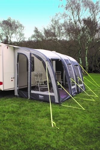Leisurewize Ontario Air 390 Inflatable Caravan Awning Free Groundsheet Free Delivery Grasshopper Leisure In 2020 Caravan Awnings Caravan Inflatable