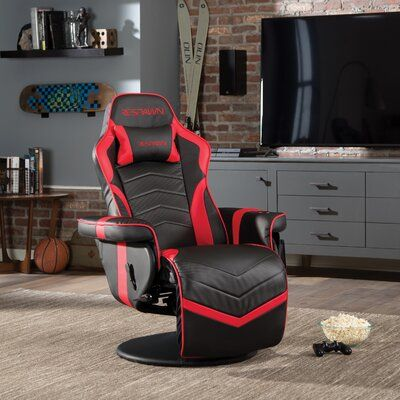 Respawn Respawn Recliner Racing Game Chair Colour Red Black In