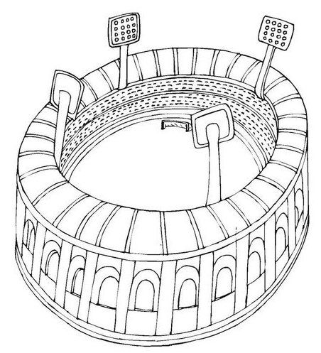 Pin Van Illustration Designer Op World Cup Stadium Coloring Pages