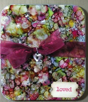 Splitcoaststampers Tutorials: Alcohol Ink by Cindy Lyles: Card Making Techniques