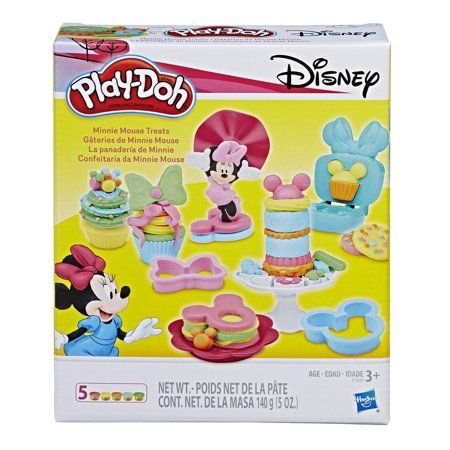 Play Doh Disney Minnie Mouse Treats Set With 5 Cans Of Play Doh Walmart Com Play Doh Minnie Mouse Minnie Mouse Toys