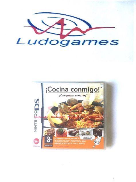 Cocina Conmigo Que Preparamos Hoy? Nintendo DS PAL/EUR Precintado Sealed New
