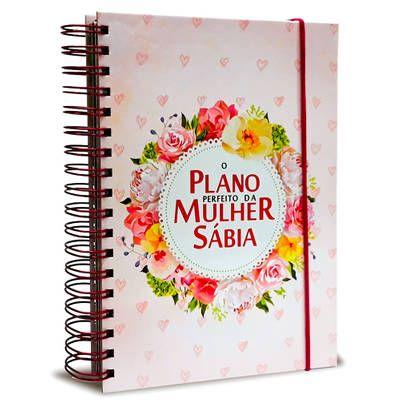 O Plano Perfeito Da Mulher Sabia Rosa Planner Com Imagens