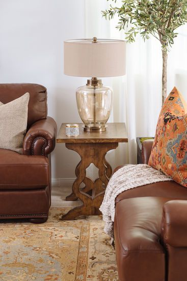 Enjoyable Nailhead Accented 68 Leather Loveseat In Cinnamon Living Bralicious Painted Fabric Chair Ideas Braliciousco