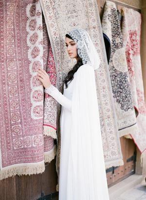 Stunning Arabian Wedding Inspiration In Muted Tones At Qasr Al Sultan Dubai Wedding Dress Arabian Wedding Dubai Wedding