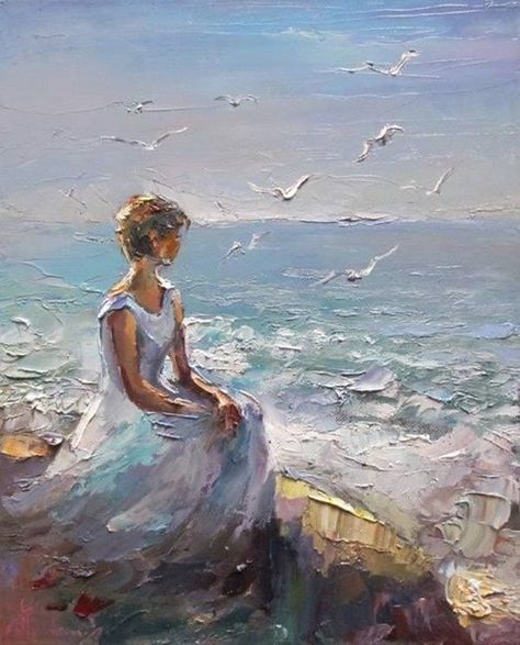 Le migliori 62 immagini su donne di mare | Donne, Dipinti, Arte ...