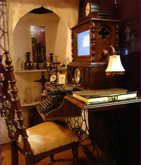Steampunk My Pc Home Decor