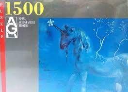 Puzzle 1500 Piezas Salvador Dalí Lžunicorne Allègre