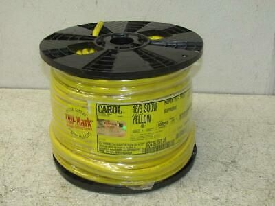 Carol 02635 35t 05 16 Awg 3 Conductor Portable Cord 600v 250ft Yellow In 2020 Carole Cord Conductors