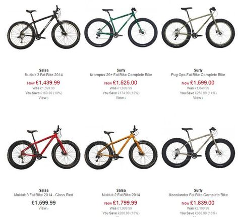 Best Places To Buy Fat Bikes In The Uk Fatbike Bicycle Fat