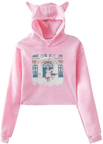 New Womens Melanie Martinez K 12 Cat Ear Sweater For Girls Crop Top Women Hoodies Sweatshir Melanie Martinez Outfits Girls Crop Tops Women Hoodies Sweatshirts