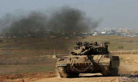 توغل محدود لآليات الاحتلال الإسرائيلي في بيت لاهيا شمال غزة