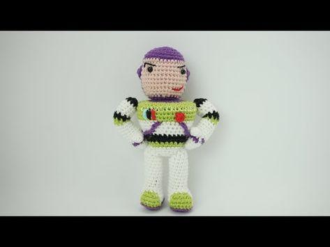 Bebè Amigurumi Tutorial Uncinetto - Muñeca Crochet (Eng Sub ... | 355x473