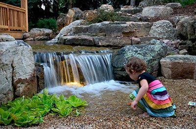 Diy Backyard Waterfall How To Build A Backyard Pondless Waterfall Backyard Pondless Waterfall Waterfalls Backyard Backyard Water Feature