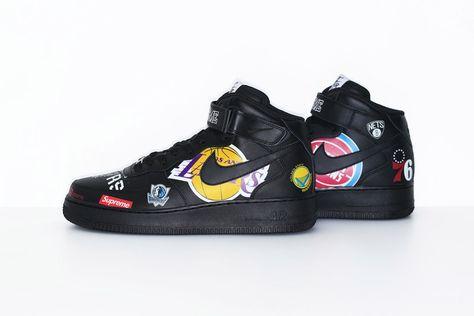 Supreme x NBA x Nike Air Force 1 + Apparel Collection