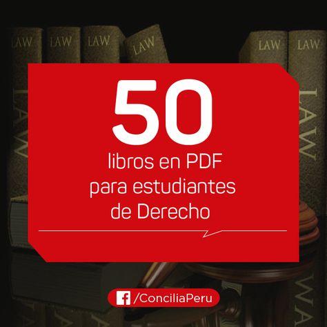 50 libros en PDF para estudiantes de Derecho - CENTRO DE FORMACIÓN PATRICIA RAMOS