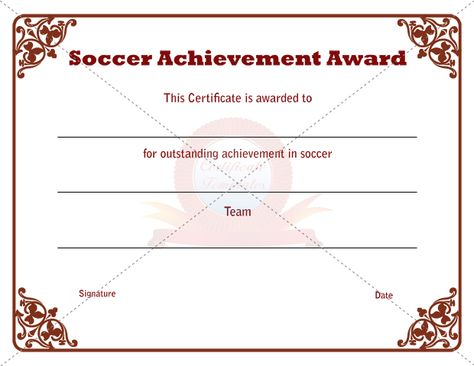 Sports Certificate Template | Sports Certificate Templates